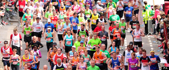 So that's what running a marathon is like, by Graham Carter
