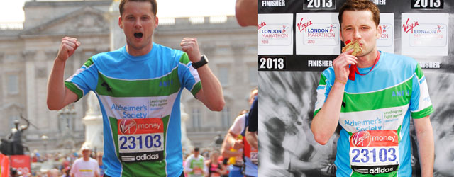 My first London Marathon by Anthony Hubbard
